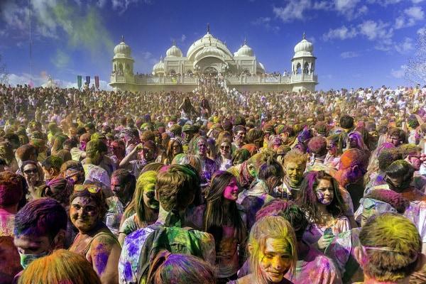 Holi festival, si festeggia l'arrivo della primavera!