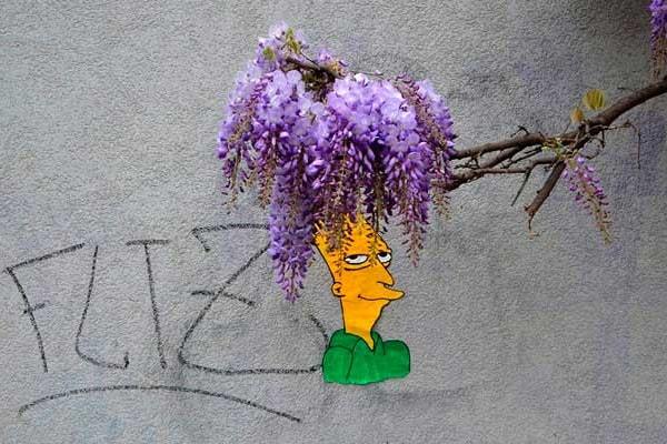 Street art: buffi omini spuntano dappertutto