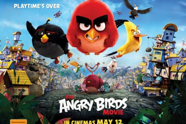 Angry Birds, il film è al cinema!