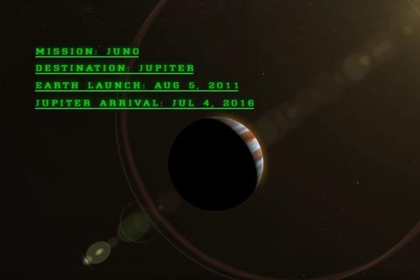 La sonda Juno sta per arrivare su Giove!
