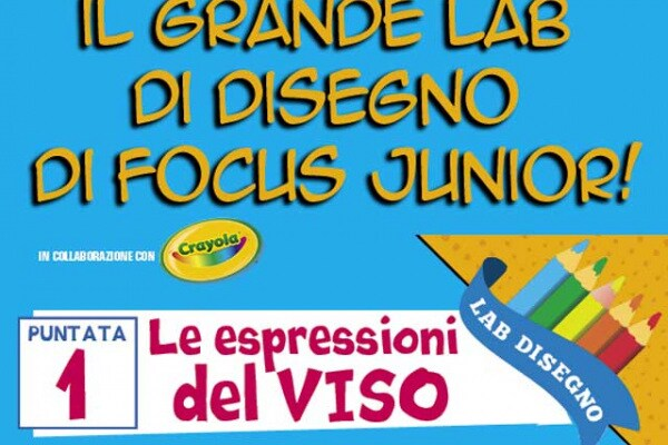 Impara a disegnare con il Lab di Focus Junior!