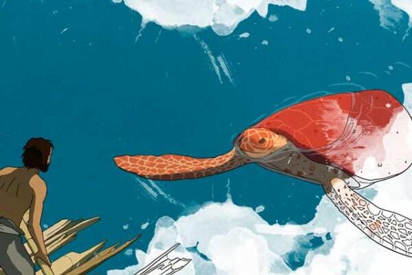 """""""La tartaruga rossa"""", le immagini dal film da colorare"""