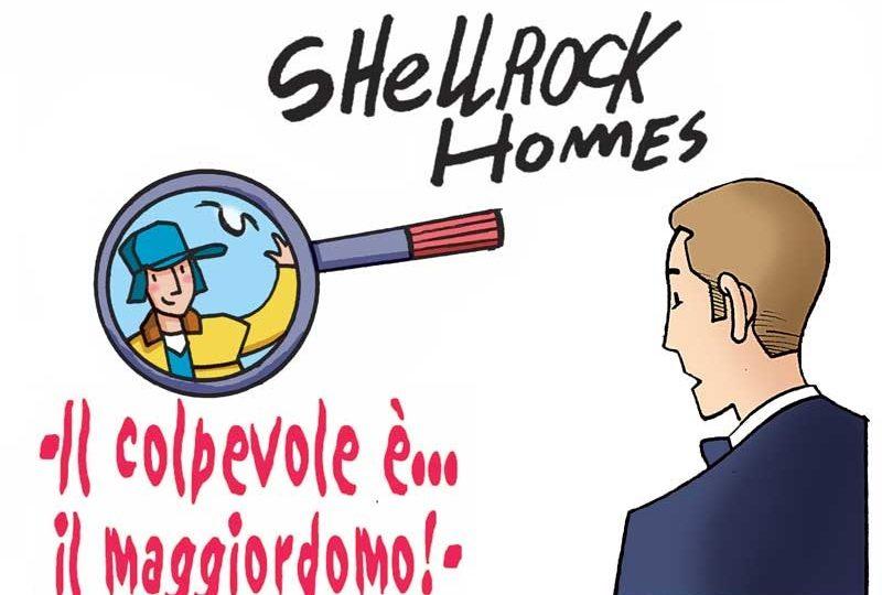 Gli strani casi dell'investigatore Shellrock | Il colpevole è il maggiordomo