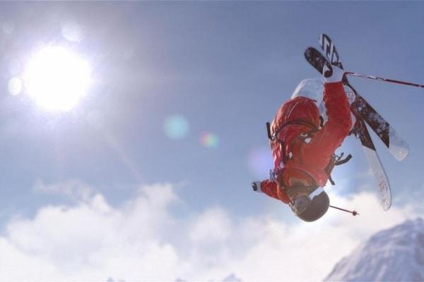 Acrobazie sulla neve: il Monte Rosa diventa un Videogame!