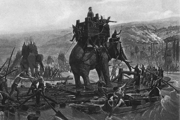 Quanti elefanti portò con sé Annibale sulle Alpi?