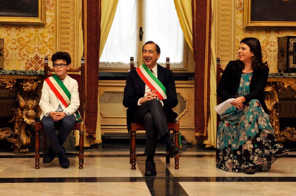A 9 anni diventa sindaco di Milano per un giorno!