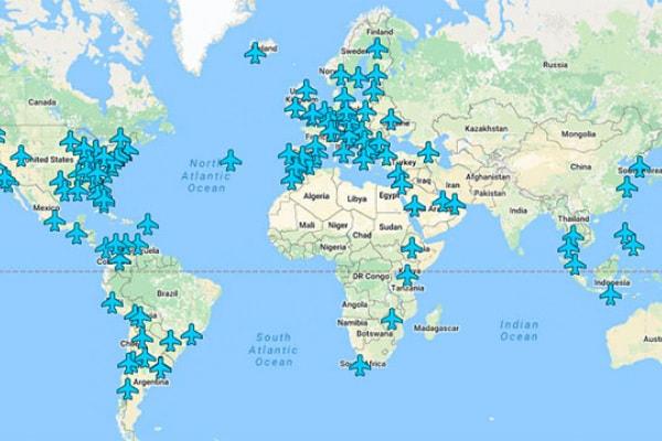 Le password gratuite dei wi-fi degli aeroporti di tutto il mondo