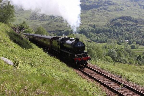 Il treno di Harry Potter esiste ed è in Scozia!