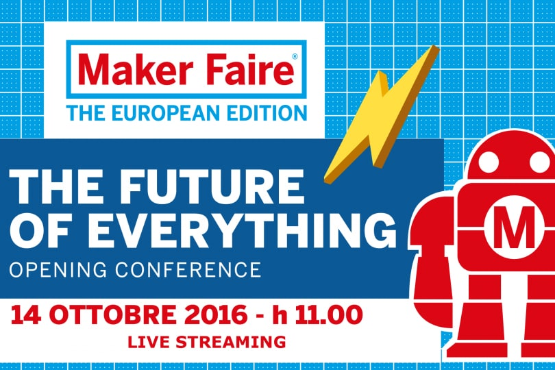 Maker Faire di Roma, la diretta streaming dell'evento!