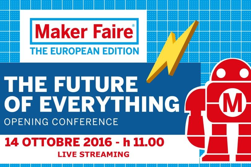 Maker Faire di Roma, la diretta streaming dell'evento!