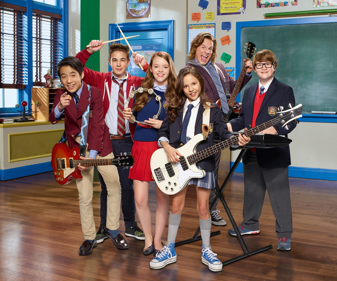 School of Rock, una nuova serie tv su Nickelodeon