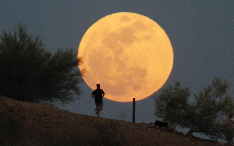 Arriva la super Luna!
