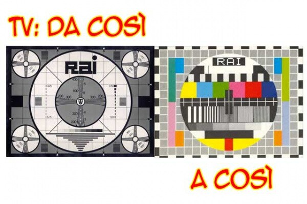Lo sapevi che | Oggi, 40 anni fa, nasceva in Italia la tv a colori