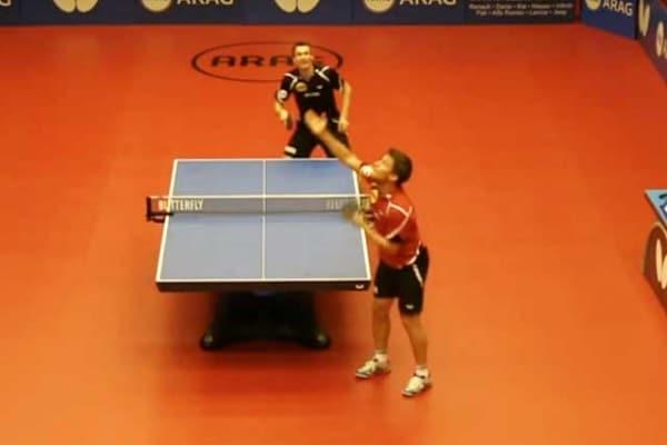 Ping pong | Epico scambio di colpi al Dusseldorf Table tennis Grand Prix