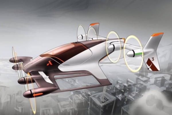 Macchine volanti, il futuro del traffico è in cielo!