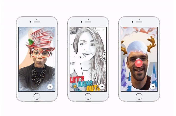 """Video e filtri buffi nel nuovo aggiornamento di Messenger: anche Facebook si """"Snapchattizza""""!"""