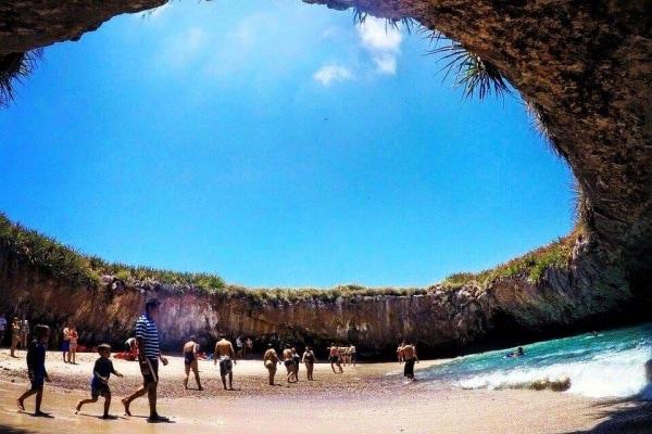Curiosità dal mondo: scopriamo Playa Escondida, spiaggia esclusiva messicana