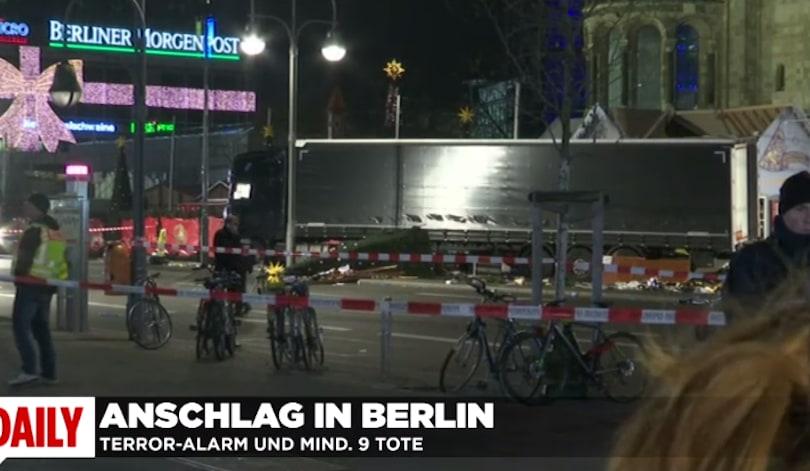 Presunto attentato a Berlino