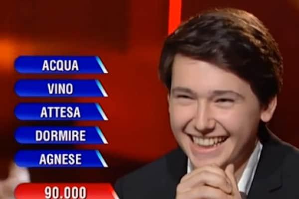 Tommaso, il giovane campione dell'Eredità!