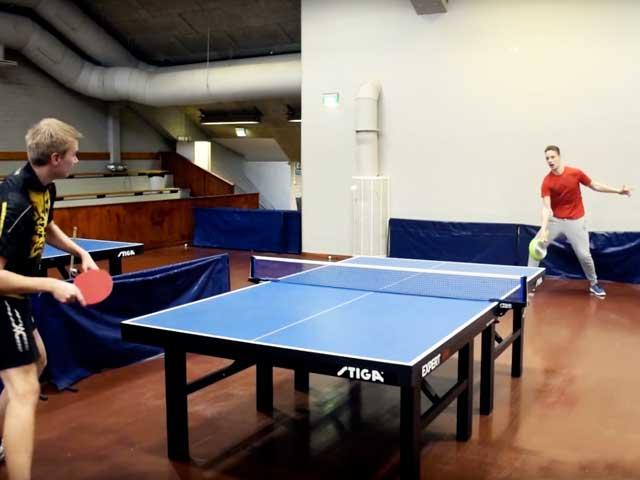 Sfide all'ultimo colpo | Ping pong da urlo con i 4 di Pongfinity