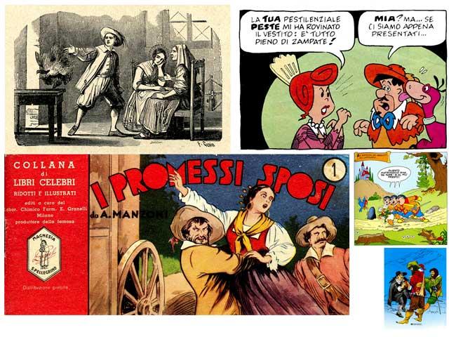 """Una mostra a fumetti per i 190 anni del romanzo """"I promessi sposi"""""""
