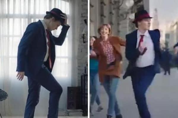 Il ballerino dello spot Tim che fa impazzire il web