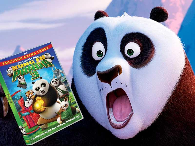 In arrivo il DVD di Kung Fu Panda 3!
