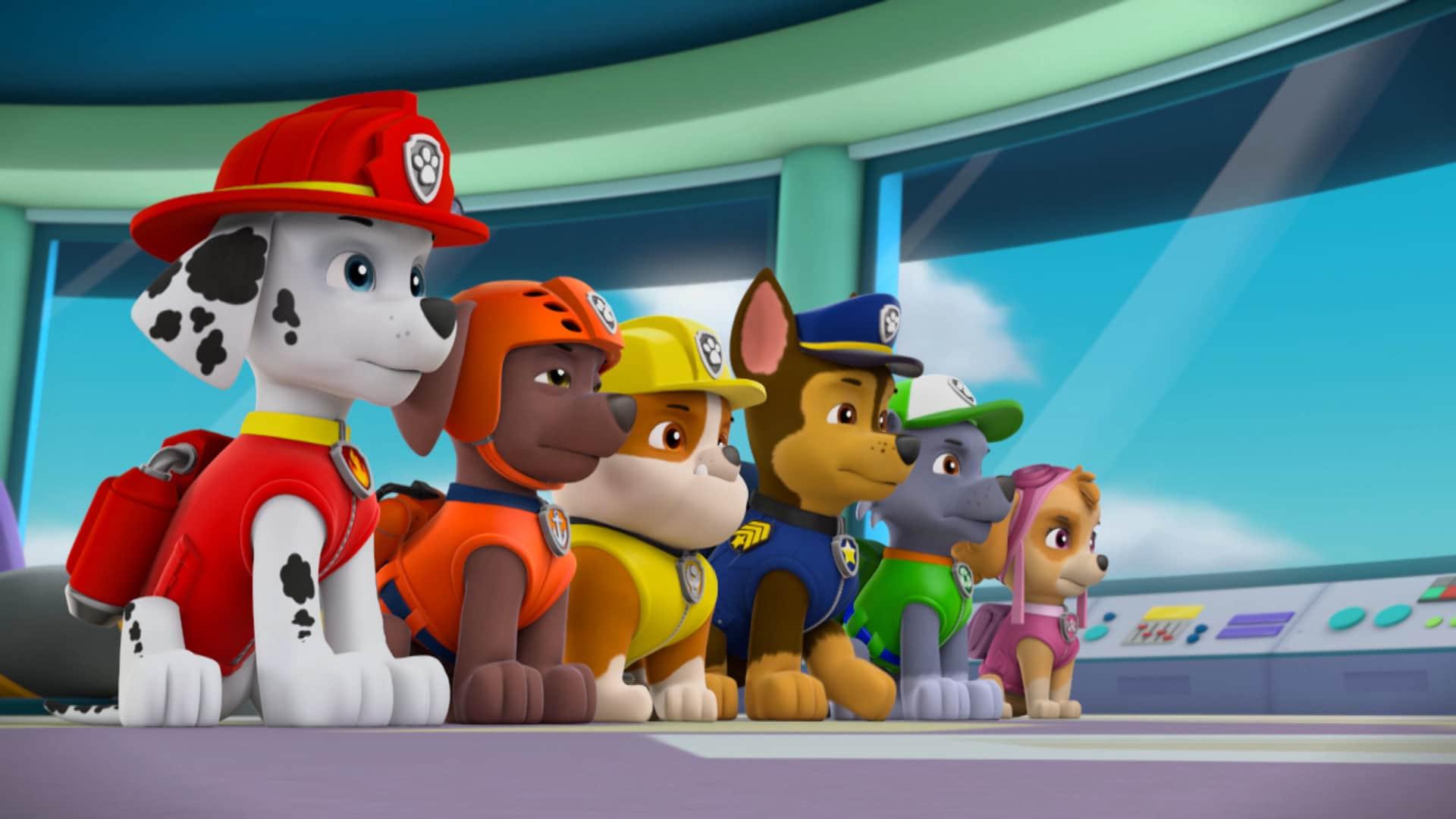 Le avventure dei cuccioli di Paw Patrol al cinema dal 22 dicembre all'8 gennaio