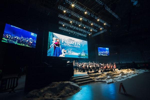 Frozen in concerto: la fotogallery