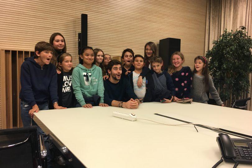 Il video dell'intervista ad Alvaro Solèr, insieme ai lettori di Focus Junior