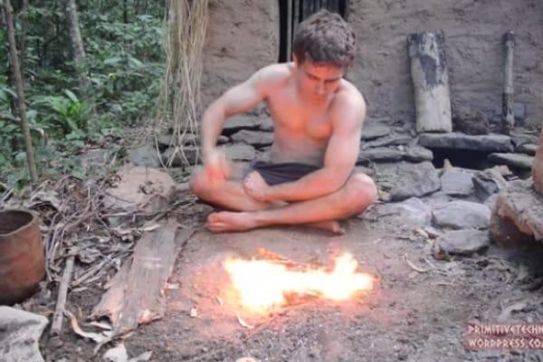 Il primitivo di YouTube: tutorial per vivere come gli uomini delle caverne!