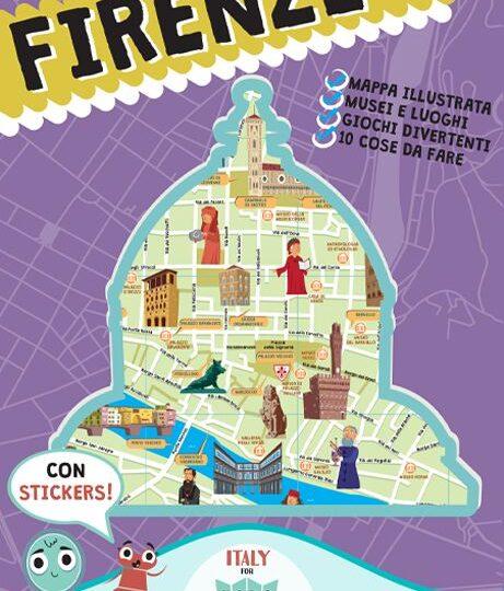 """""""Italy For Kids"""", set di mappe geografiche per i più piccoli per scoprire le città italiane"""