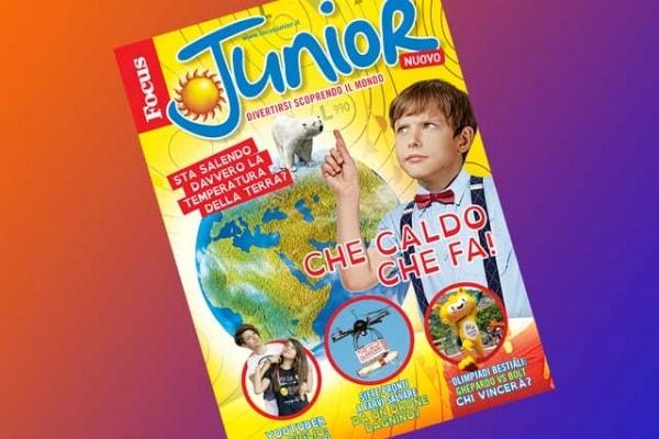 In esclusiva per voi focusini ecco gli extra di Focus Junior n. 151!