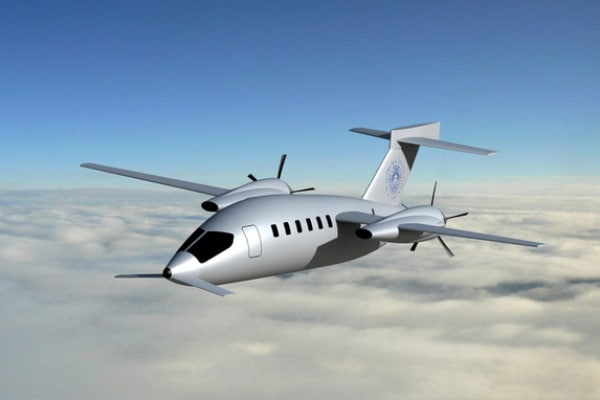 FutureWings | L'aereo mutaforma