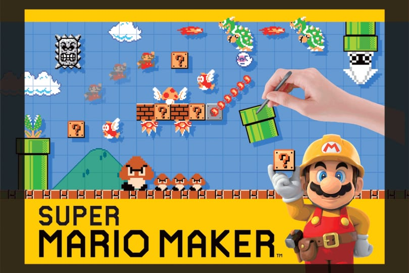 Junior reporter: Super Mario Maker per 3DS