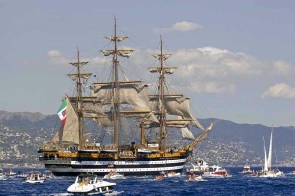 Scritto da voi | La nave Amerigo Vespucci