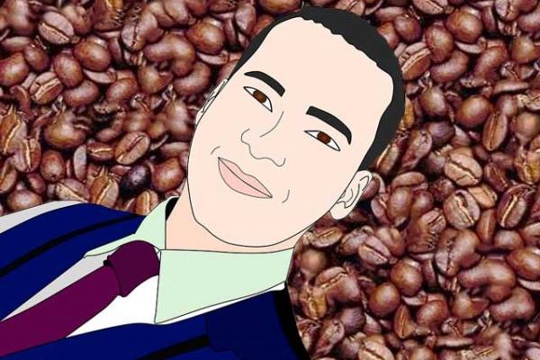 Illusioni ottiche | Trova l'uomo nascosto tra i chicchi di caffé!