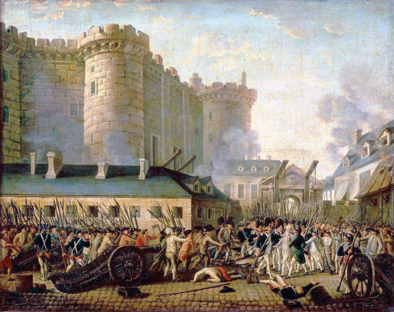 Francia: il 14 luglio si celebra la presa della Bastiglia!