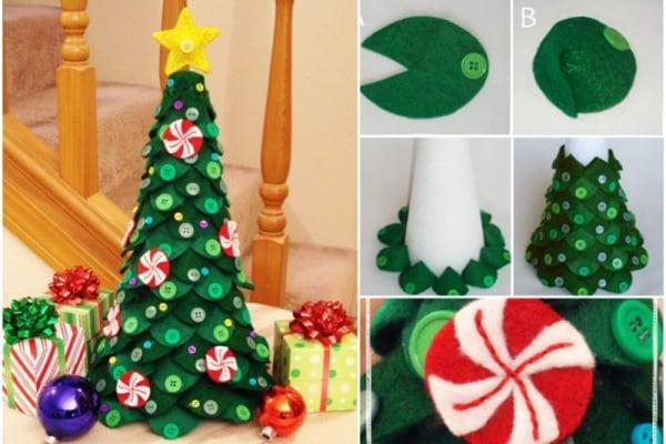 Alberi di Natale fai da te: semplici, veloci e di grande effetto