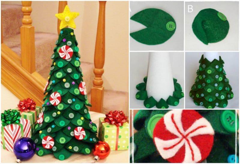 Lavoretti Di Natale Veloci E Facili.Alberi Di Natale Fai Da Te Semplici Veloci E Di Grande Effetto