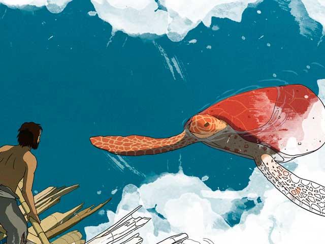 Cartoon | La tartaruga rossa arriva al cinema. Non perderla!