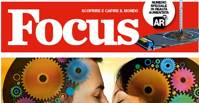 La novità di Focus: leggere con la realtà aumentata!