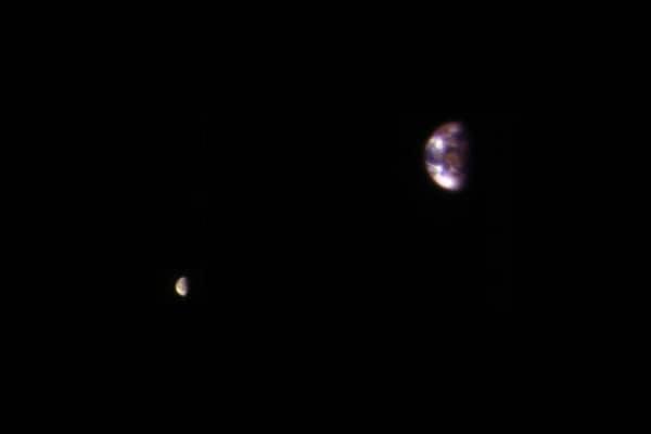 Com'è la Terra vista da Marte? Ce lo mostra una foto Nasa!