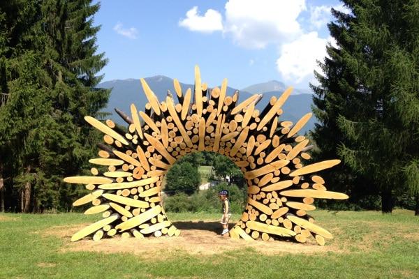 Junior reporter: Trentino, vi racconto la bellezza del parco Arte Sella