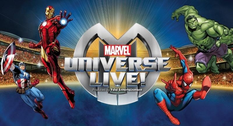 Supereroi in carne ed ossa al Marvel Universe Live!