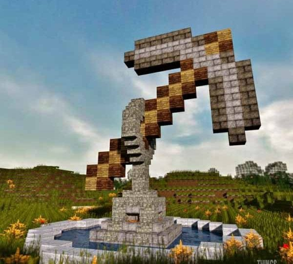 11 oggetti in stile Minecraft | Gallery