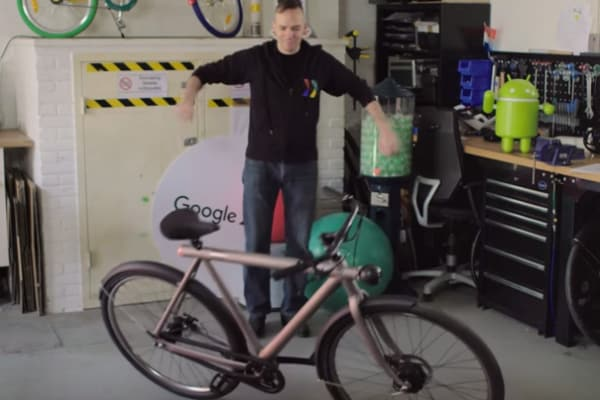 La bici del futuro ci porterà in giro da sola?