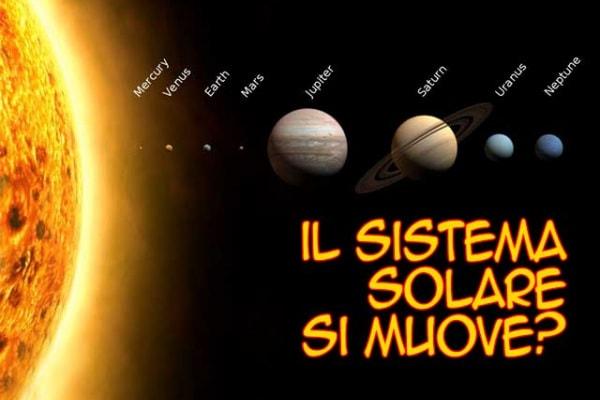 Domandona | Il sistema solare si muove?
