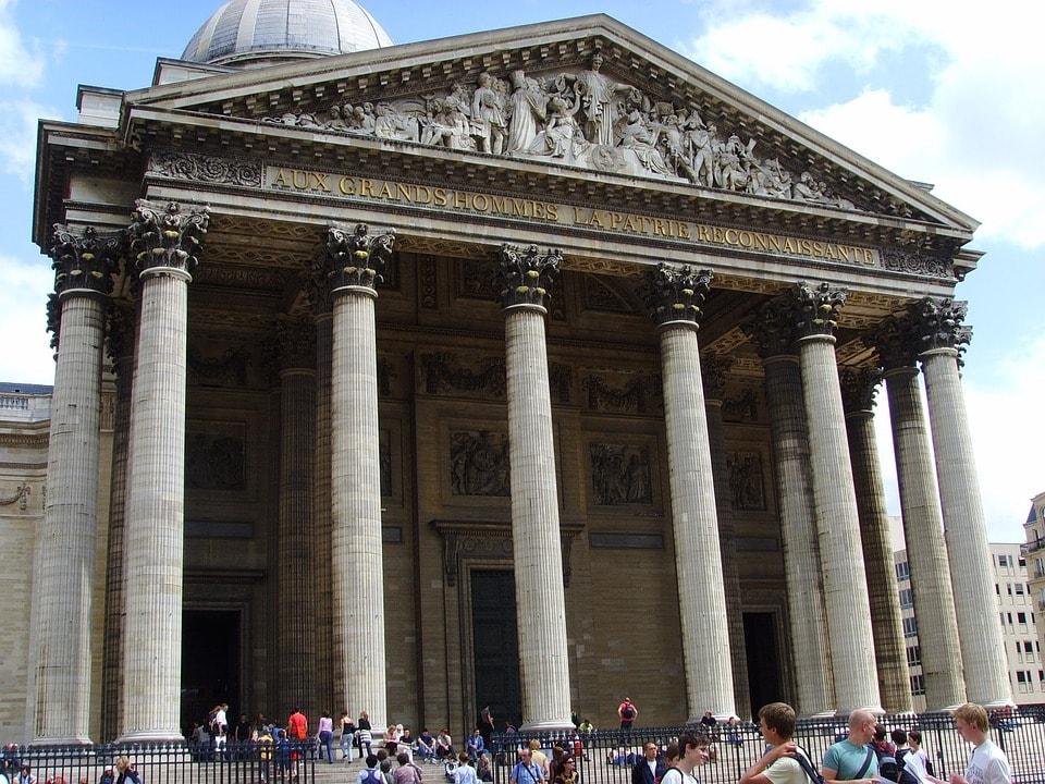 Pantheon e Marie Curie