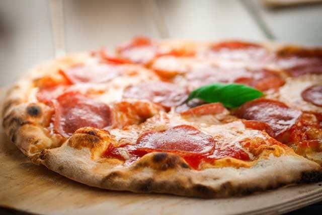 Geometria in cucina: come dividere una pizza in modo equo